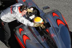 Lewis Hamilton, McLaren Mercedes, MP4-24, detail