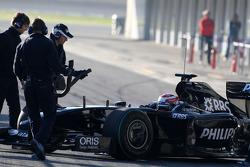 Kazuki Nakajima, Williams F1 Team, FW31- Formula 1 Testing, Jerez