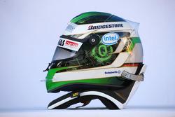 Helmet, Nick Heidfeld, BMW Sauber F1 Team