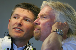 Nick Fry, Brawn GP, Chief Executive Officer and Sir Richard Branson, Virgin Group CEO
