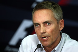 FIA press conference: Martin Whitmarsh, McLaren, Chief Executive Officer