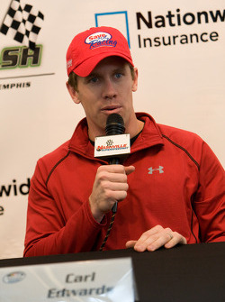 Press conference: Carl Edwards