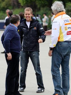 Jean Todt, Scuderia Ferrari, Sebastian Vettel, Red Bull Racing, Flavio Briatore, Renault F1 Team, Team Chief, Managing Director