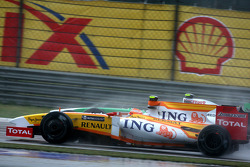 Nelson A. Piquet, Renault F1 Team, Adrian Sutil, Force India F1 Team