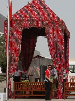 Paddock Entrance