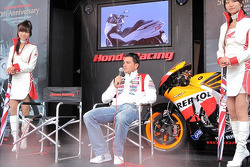 Honda Racing 50 years of championship racing event: Randy De Puniet, LCR Honda MotoGP