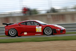 #78 Advanced Engineering Ferrari F430 GT: Don Kinch, Joe Foster, Patrick Dempsey