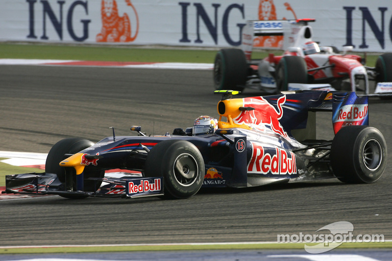 Sebastian Vettel, Red Bull Racing and Jarno Trulli, Toyota F1 Team