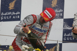 Podium: third place Jarno Trulli, Toyota F1 Team