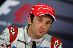 FIA press conference: third place Jarno Trulli, Toyota Racing