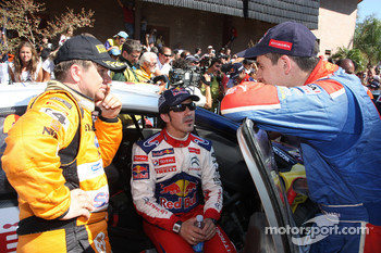 Henning Solberg, Marc Marti and Julien Ingrassia