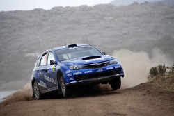Toshihiro Arai and Glenn Macneall, Subaru Impreza STI, Subaru Team Arai