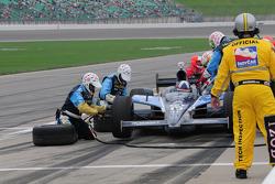 Dario Franchitti, Target Chip Ganassi Racing makes a pitstop