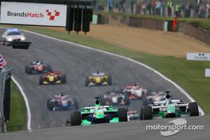 Brands Hatch A1GP start, 2009