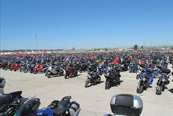 Bikes at Jerez