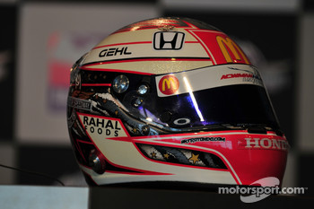 Graham Rahal's new helmet