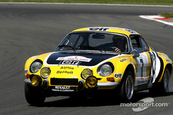 A famous rally car: Alpine Renault A 110