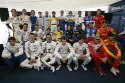 2009 GP2 Series drivers pose for the media