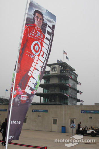 Flag for Dario Franchitti, Target Chip Ganassi Racing