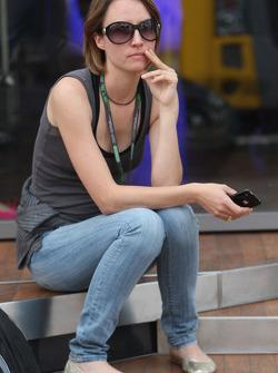 Patricia Papen, girlfriend of Nick Heidfeld
