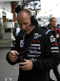 Former driver Philippe Sinault, head of Signature Plus