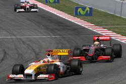 Lewis Hamilton, McLaren Mercedes ans Fernando Alonso, Renault F1 Team