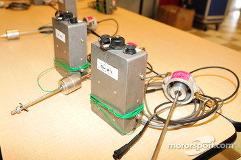 Fuel monitoring devices submitted for inspection