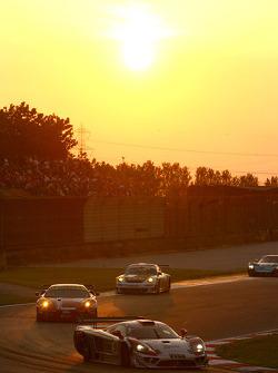 #18 K plus K Motorsport Saleen S7R: Adam Lacko, Mario Dominguez
