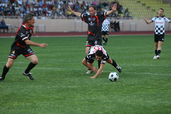 Star Team vs Nazionale Piloti, Charity Football Match, Monaco, Stade Louis II: Giancarlo Fisichella, Force India F1 Team