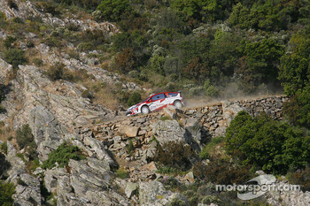 Sbastien Olgier and Julien Ingrassia, Team Adapta, Citroen C4 WRC