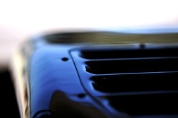 Engine sidepod vents detail