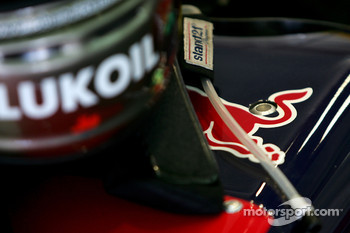 Red Bull Helmet detail