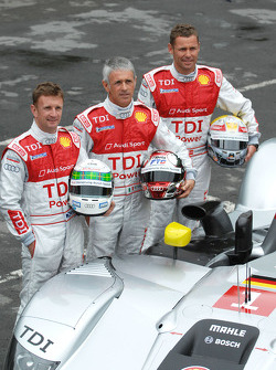 Allan McNish, Rinaldo Capello, Tom Kristensen