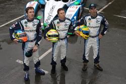 #16 Pescarolo Sport Pescarolo Judd: Christophe Tinseau, Bruce Jouanny, Joao Barbosa