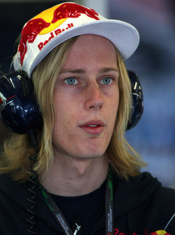 Brendon Hartley, Test driver of Red Bull