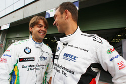 Augusto Farfus, BMW Team Germany and Jorg Muller, BMW Team Germany