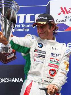 1st, winner, Alex Zanardi, BMW Team Italy-Spain