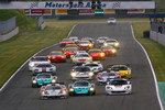 Start: crash between #14 K plus K Motorsport Saleen S7R: Karl Wendlinger, Ryan Sharp, #2 Vitaphone Racing Team Maserati MC 12: Miguel Ramos, Alex Mller and #19 Luc Alphand Aventures Corvette C6R: Xavier Maassen, Thomas Biagi