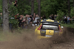 Evgeny Novikov and Dmitry Chumak, Citroen C4 WRC, Citroen Junior Team