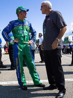 Clint Bowyer and Dale Jarrett