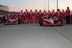 The Target Chip Ganassi front row