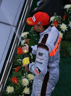 GT500 podium: third place Ralph Firman