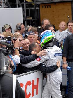 Second place Bruno Spengler, Team HWA AG, AMG Mercedes C-Klasse