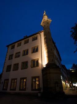 Stuttgart by night: Hotel am Schlossgarten