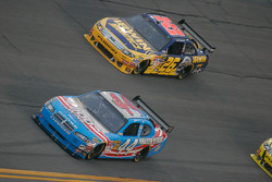 A.J. Allmendinger, Richard Petty Motorsports Dodge and Jamie McMurray, Roush Fenway Racing Ford
