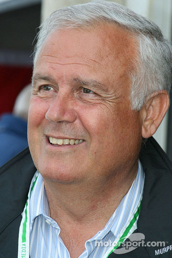 Patrick Tambay, here to oversee his son's career