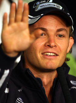 FIA press conference: Nico Rosberg, Williams F1 Team