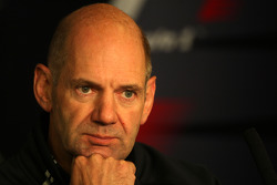 FIA press conference: Adrian Newey, Red Bull Racing, Technical Operations Director