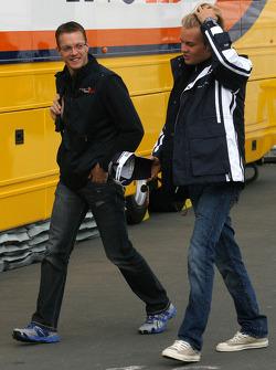 Sébastien Bourdais, Scuderia Toro Rosso and Nico Rosberg, Williams F1 Team