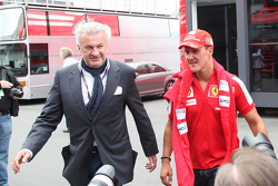 Willi Weber, Driver Manager with Michael Schumacher, Test Driver, Scuderia Ferrari